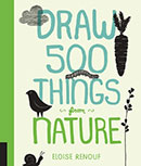 Draw 500 Things from Nature Pocket Book