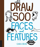 Draw 500 Faces and Features Pocket Book