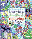 Drawing Doodling Book for Boys