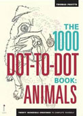 The 1000 Dot-to Dot Book: Animals