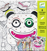 Colouring Surprise – Window for Monsters
