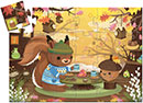 Squirrel Tea Party Puzzle